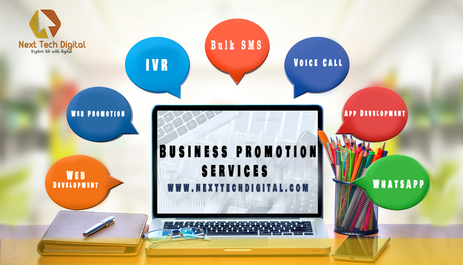 Most Used services for Business Promotion